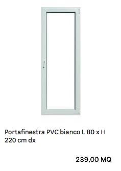 Balcone in pvc preventivo infissi pvc for Preventivo infissi in pvc